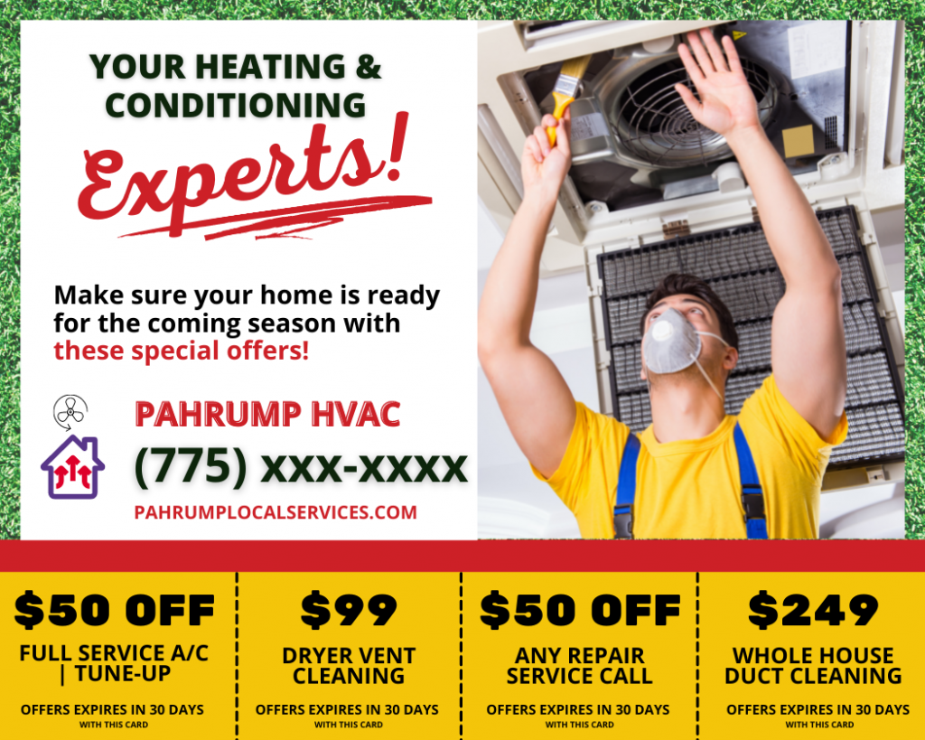 Pahrump HVAC Heating and Cooling - Pahrump Local Services