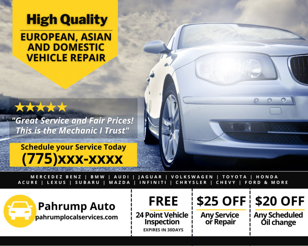 Pahrump Auto Repair Service - Pahrump Local Services