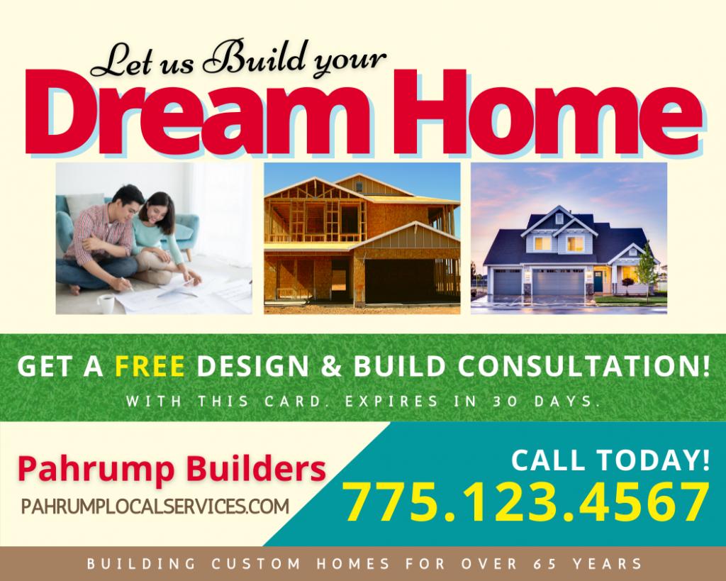Pahrump Premier Home Builder - Pahrump Local Services