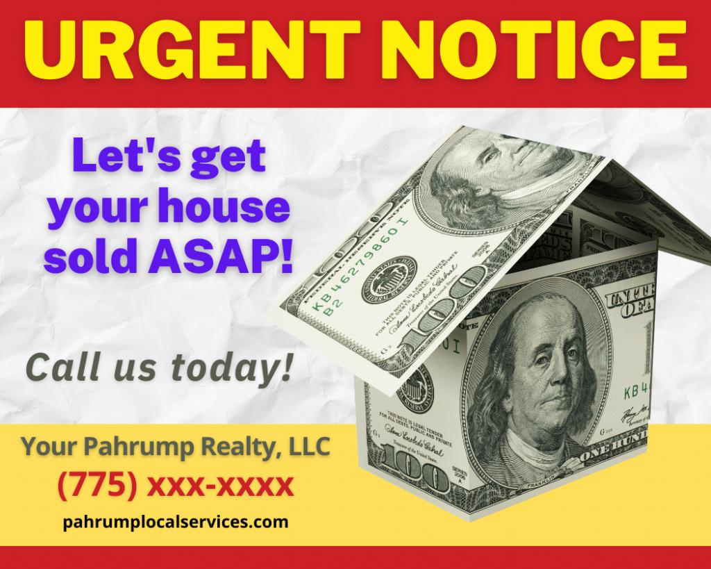 Pahrump's Best Realtor- Pahrump Local Services