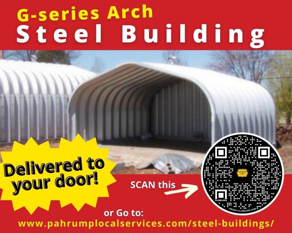 Steel Building in Pahrump