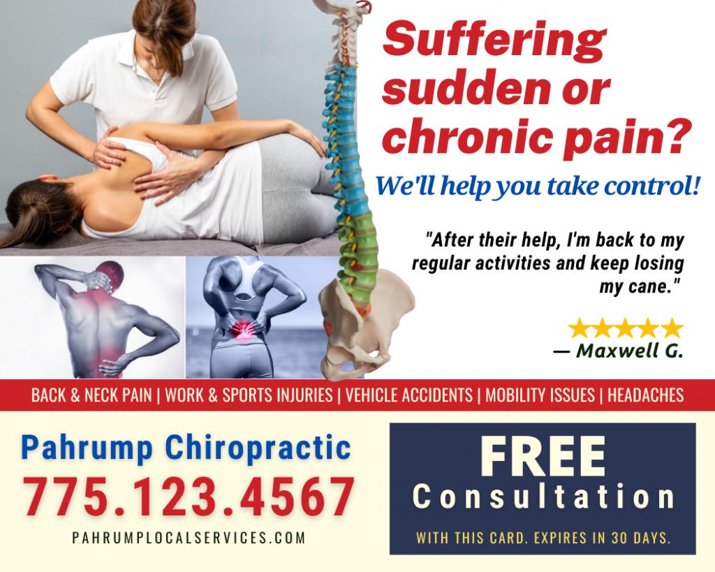 Pahrump Chiropractor- Pahrump Local Services