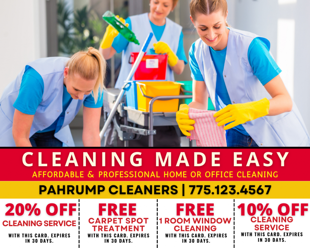 Pahrump Professional Home and Office Cleaning Service- Pahrump Local Services