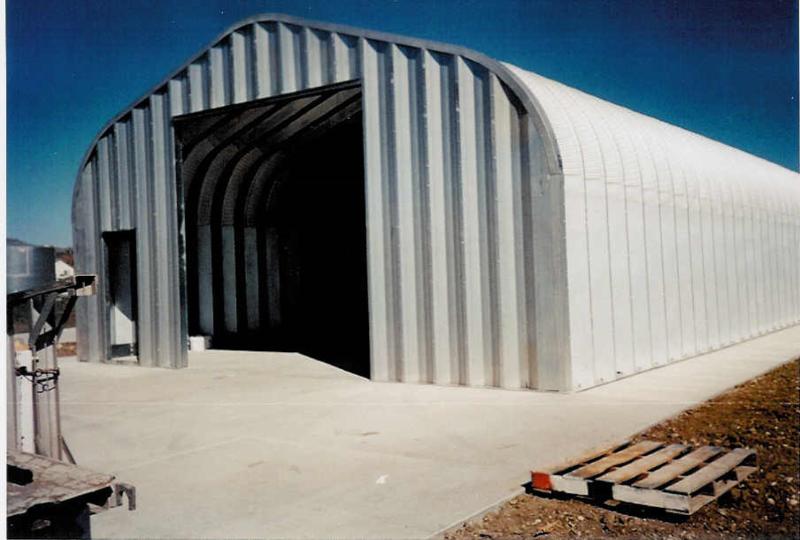 G-Series 1 Arch Steel Building - Pahrump