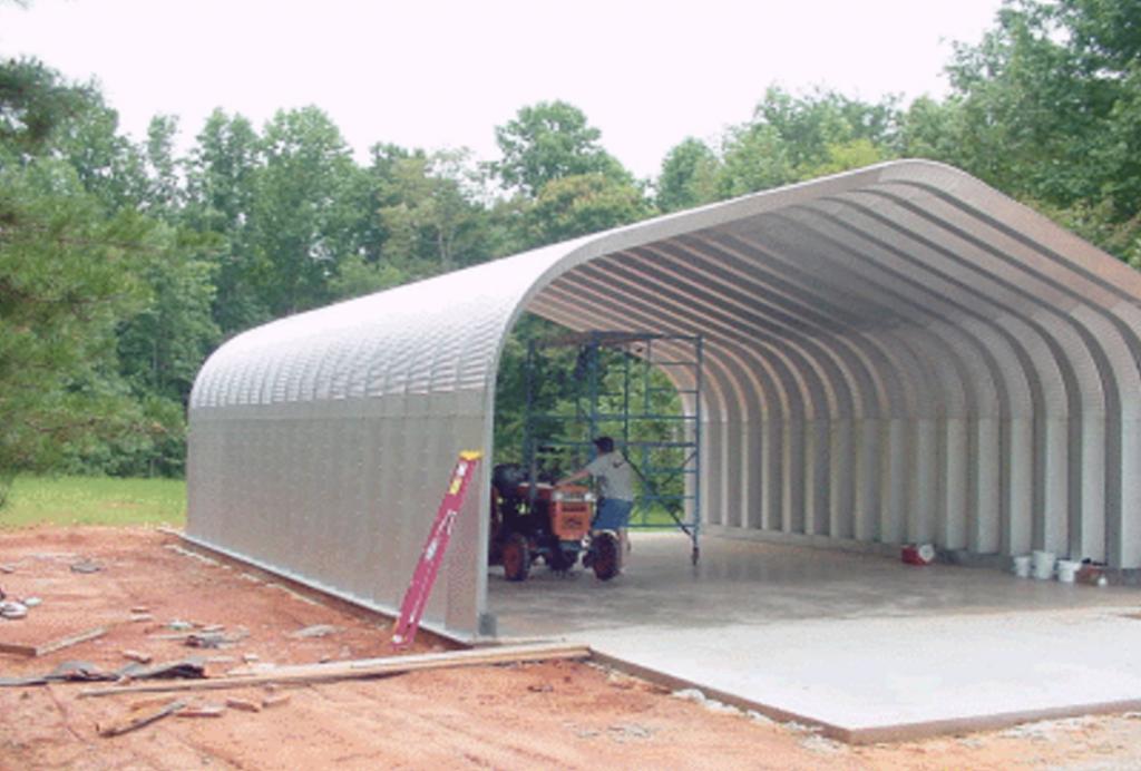 G-Series 10 Arch Steel Building - Pahrump