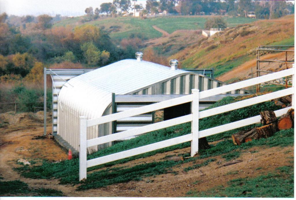 G-Series 2 Arch Steel Building - Pahrump