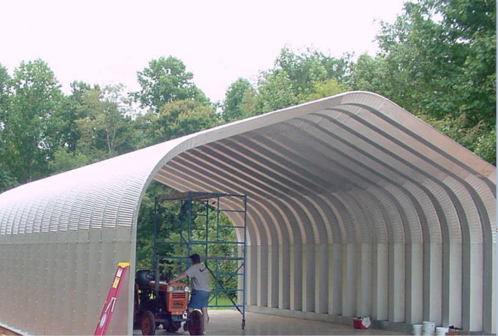 G-Series 3 Arch Steel Building - Pahrump
