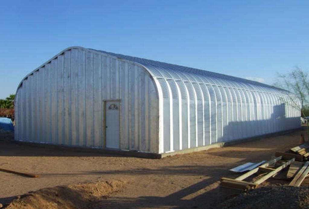 G-Series 5 Arch Steel Building - Pahrump