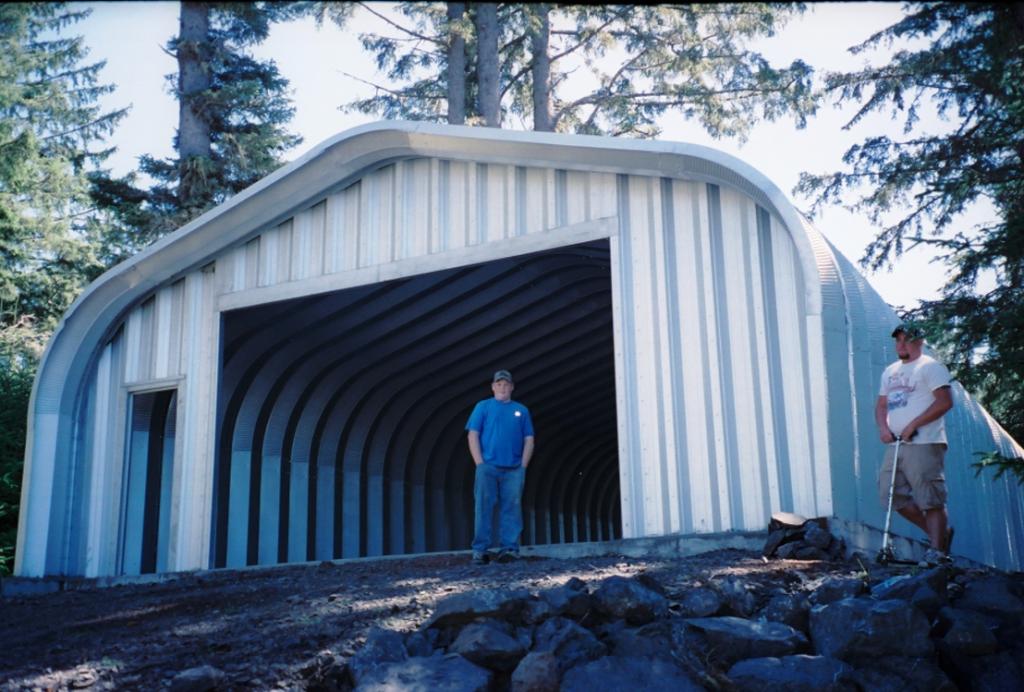 G-Series 6 Arch Steel Building - Pahrump