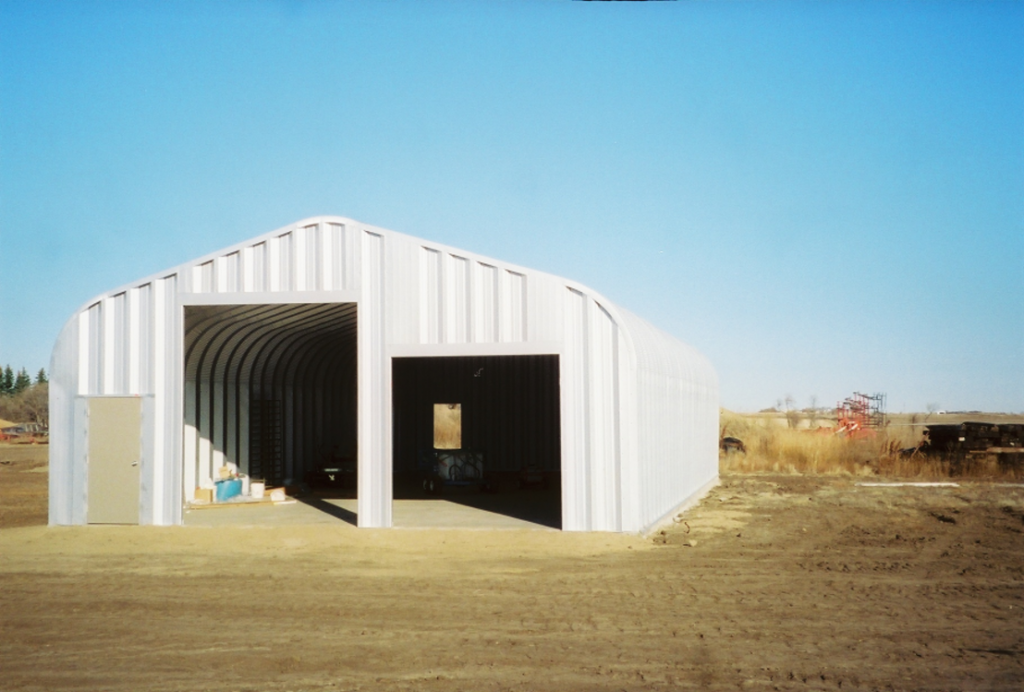 G-Series 7 Arch Steel Building - Pahrump