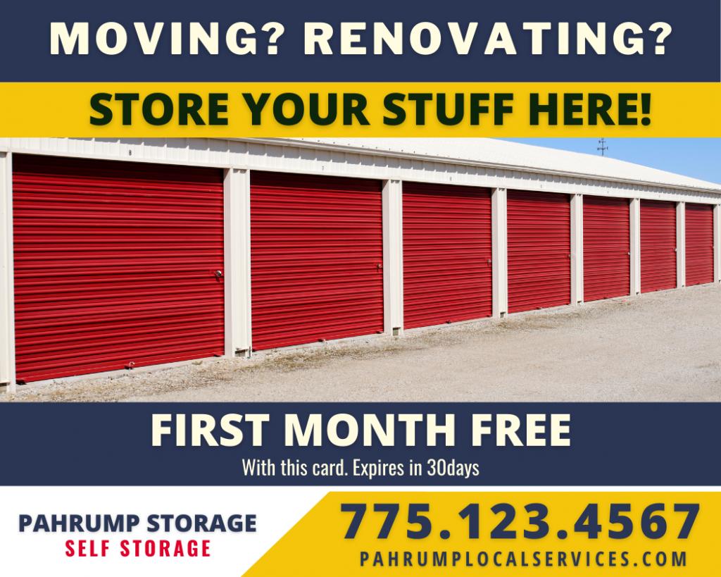 Pahrump Storage Service - Pahrump Local Services