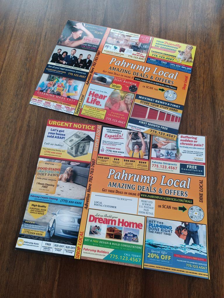 pahrump local service giant coop postcard
